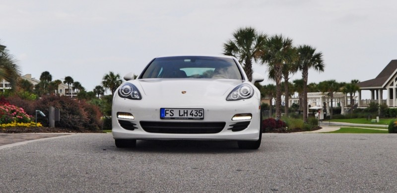 Road Test Review - 2010 Porsche Panamera S Sport Chrono is Gorgeous, Potent and Precisely Adjustable 3