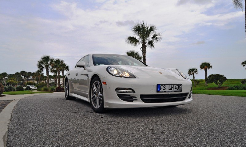 Road Test Review - 2010 Porsche Panamera S Sport Chrono is Gorgeous, Potent and Precisely Adjustable 32