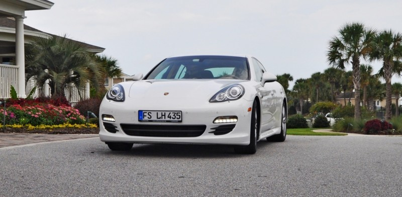 Road Test Review - 2010 Porsche Panamera S Sport Chrono is Gorgeous, Potent and Precisely Adjustable 4