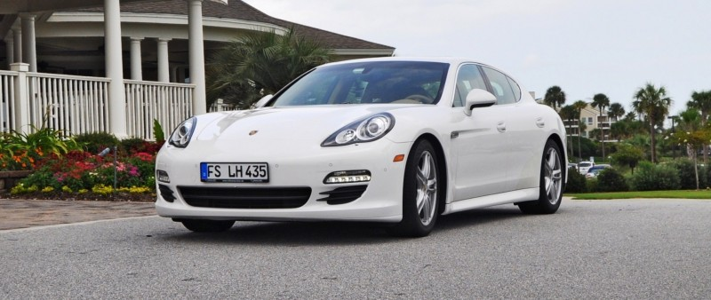 Road Test Review - 2010 Porsche Panamera S Sport Chrono is Gorgeous, Potent and Precisely Adjustable 5