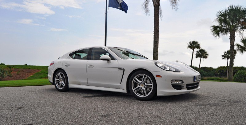 Road Test Review - 2010 Porsche Panamera S Sport Chrono is Gorgeous, Potent and Precisely Adjustable 59