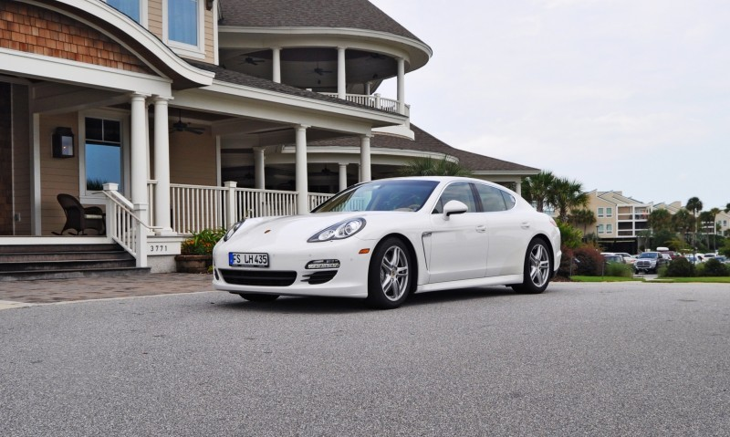Road Test Review - 2010 Porsche Panamera S Sport Chrono is Gorgeous, Potent and Precisely Adjustable 6