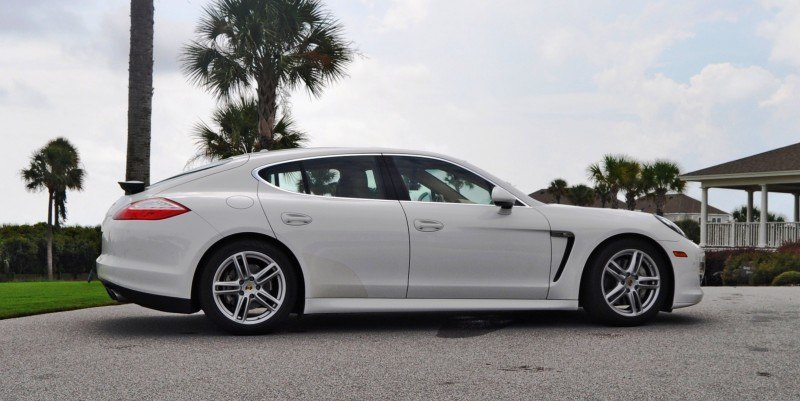 Road Test Review - 2010 Porsche Panamera S Sport Chrono is Gorgeous, Potent and Precisely Adjustable 61