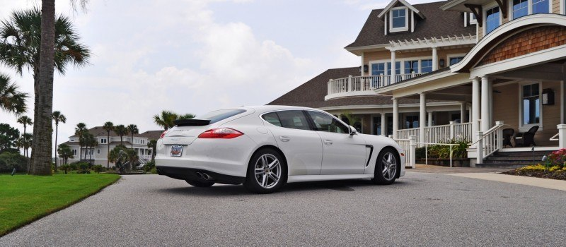 Road Test Review - 2010 Porsche Panamera S Sport Chrono is Gorgeous, Potent and Precisely Adjustable 62