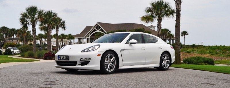 Road Test Review - 2010 Porsche Panamera S Sport Chrono is Gorgeous, Potent and Precisely Adjustable 63