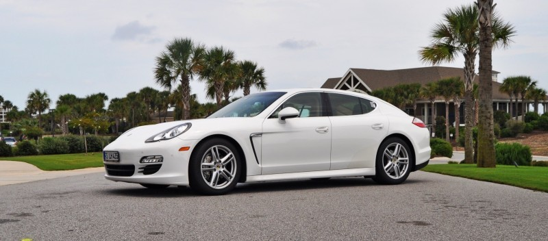 Road Test Review - 2010 Porsche Panamera S Sport Chrono is Gorgeous, Potent and Precisely Adjustable 64