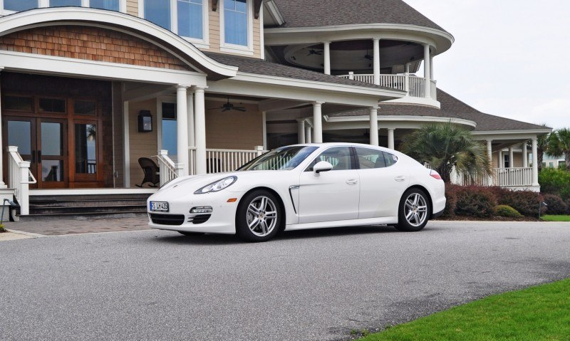 Road Test Review - 2010 Porsche Panamera S Sport Chrono is Gorgeous, Potent and Precisely Adjustable 7