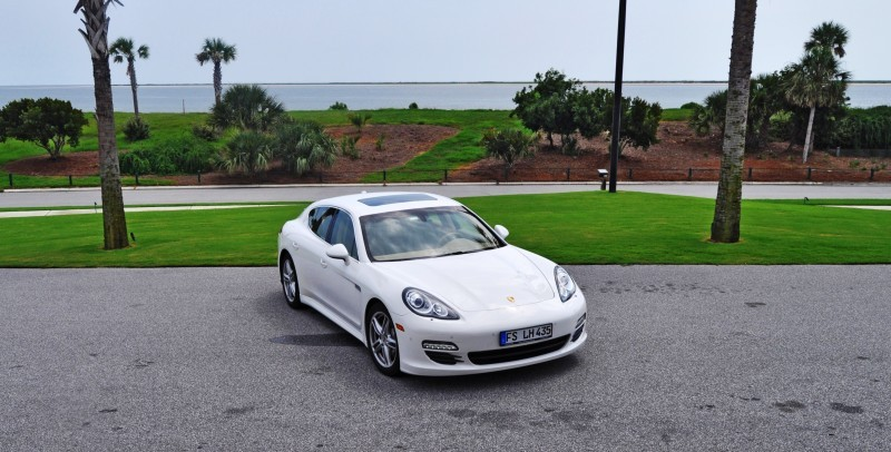 Road Test Review - 2010 Porsche Panamera S Sport Chrono is Gorgeous, Potent and Precisely Adjustable 71