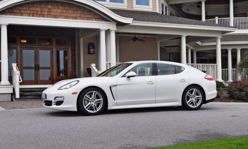 Road Test Review - 2010 Porsche Panamera S Sport Chrono is Gorgeous, Potent and Precisely Adjustable 8