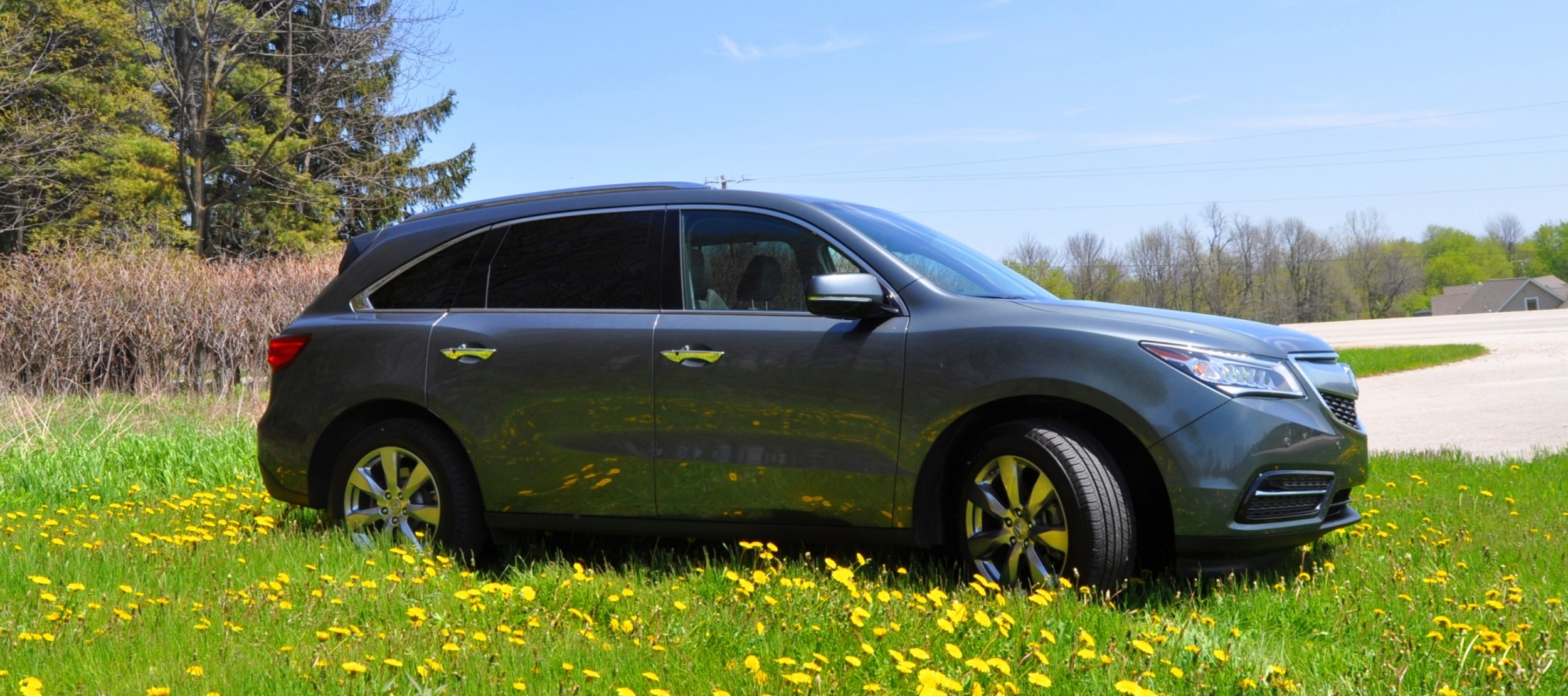 road test review 2014 acura mdx is premium and posh 7 seat cruiser 10