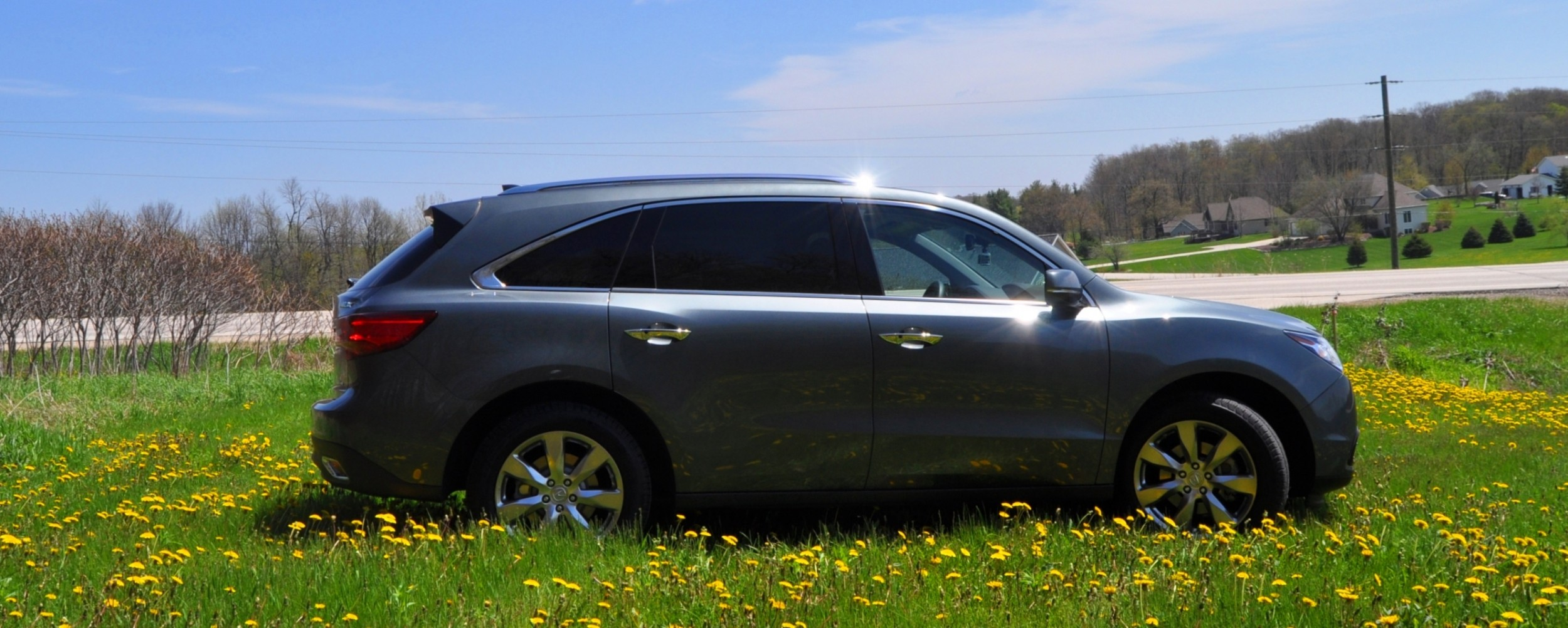 road test review 2014 acura mdx sh awd is premium and. Black Bedroom Furniture Sets. Home Design Ideas