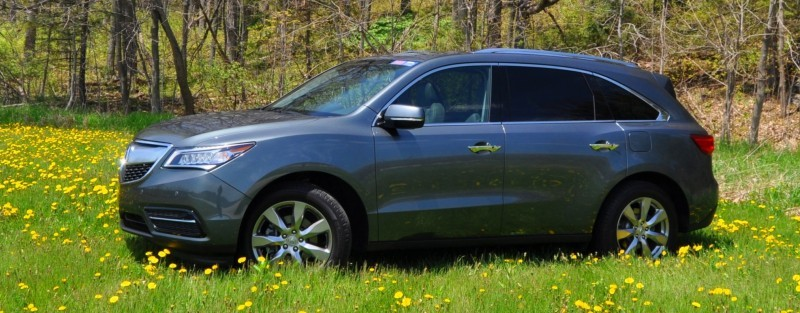 Road Test Review - 2014 Acura MDX Is Premium and Posh 7-Seat Cruiser 30