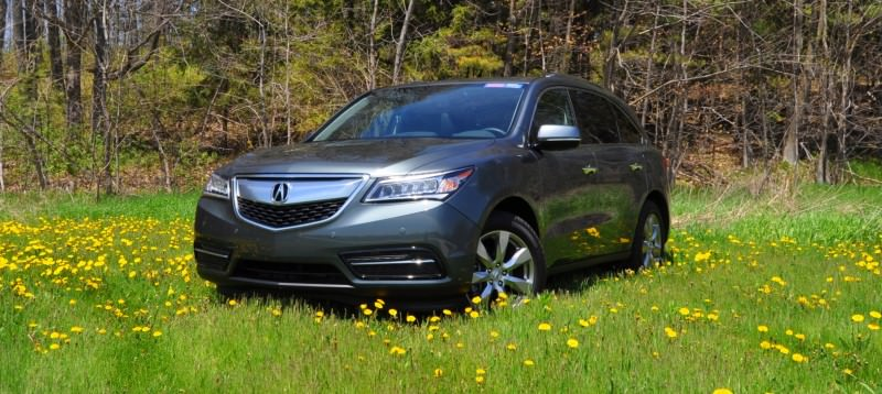 Road Test Review - 2014 Acura MDX Is Premium and Posh 7-Seat Cruiser 33