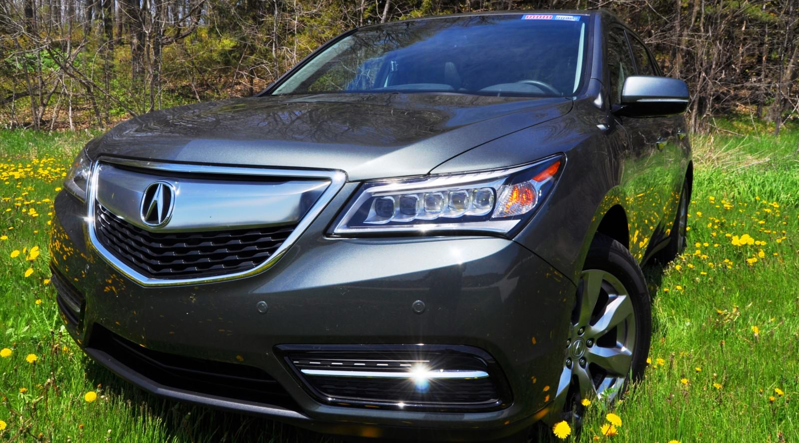 road test review 2014 acura mdx sh awd is premium and posh 7 seat cruiser. Black Bedroom Furniture Sets. Home Design Ideas