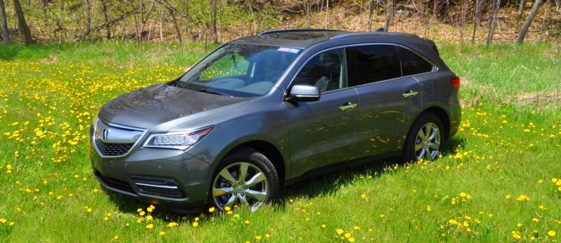 Road Test Review - 2014 Acura MDX Is Premium and Posh 7-Seat Cruiser 40