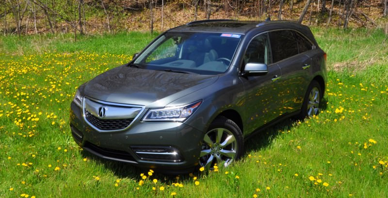 Road Test Review - 2014 Acura MDX Is Premium and Posh 7-Seat Cruiser 41