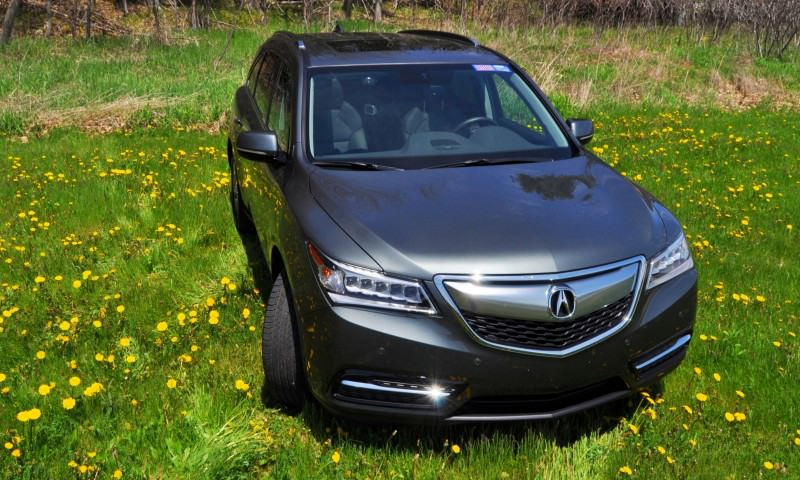 Road Test Review - 2014 Acura MDX Is Premium and Posh 7-Seat Cruiser 44