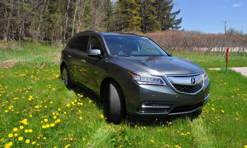 Road Test Review - 2014 Acura MDX Is Premium and Posh 7-Seat Cruiser 45