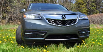 Road Test Review - 2014 Acura MDX Is Premium and Posh 7-Seat Cruiser 47