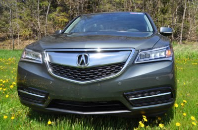 Road Test Review - 2014 Acura MDX Is Premium and Posh 7-Seat Cruiser 52