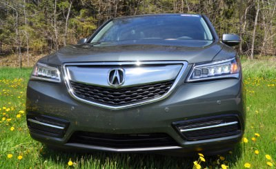 Road Test Review - 2014 Acura MDX Is Premium and Posh 7-Seat Cruiser 53