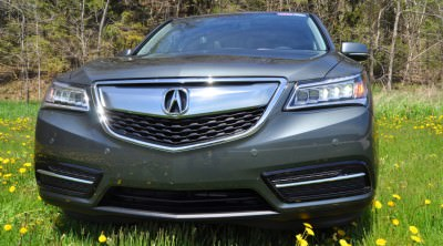 Road Test Review - 2014 Acura MDX Is Premium and Posh 7-Seat Cruiser 54