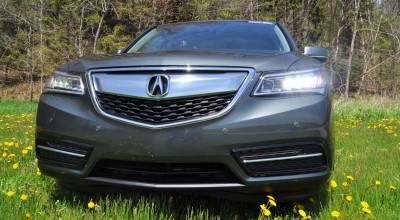 Road Test Review - 2014 Acura MDX Is Premium and Posh 7-Seat Cruiser 55