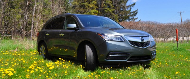 Road Test Review - 2014 Acura MDX Is Premium and Posh 7-Seat Cruiser 7