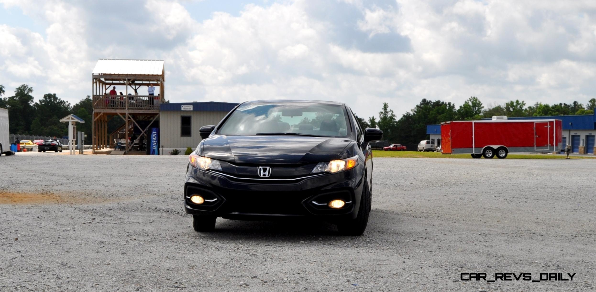 Road Test Review 2014 Honda Civic EX L Coupe 1