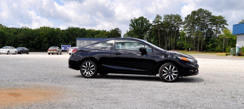Road Test Review - 2014 Honda Civic EX-L Coupe 11