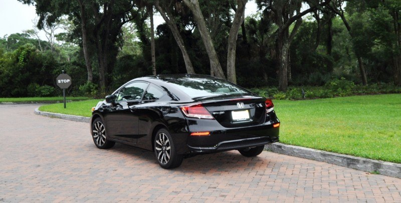 Road Test Review - 2014 Honda Civic EX-L Coupe 117
