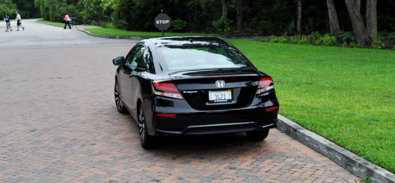 Road Test Review - 2014 Honda Civic EX-L Coupe 119