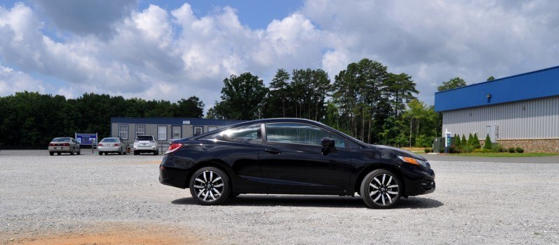 Road Test Review - 2014 Honda Civic EX-L Coupe 12
