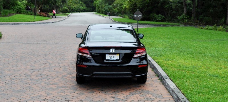 Road Test Review - 2014 Honda Civic EX-L Coupe 120