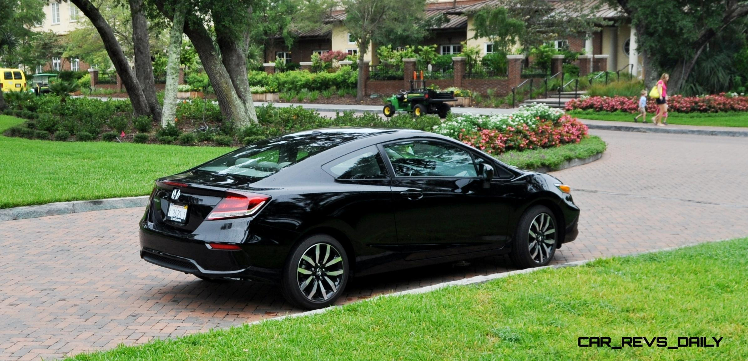 road test review 2014 honda civic ex l coupe 122. Black Bedroom Furniture Sets. Home Design Ideas