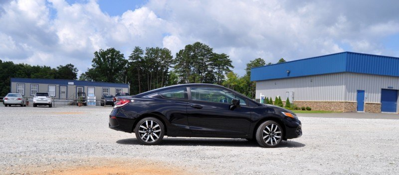 Road Test Review - 2014 Honda Civic EX-L Coupe 13