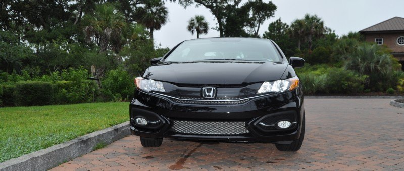 Road Test Review - 2014 Honda Civic EX-L Coupe 136