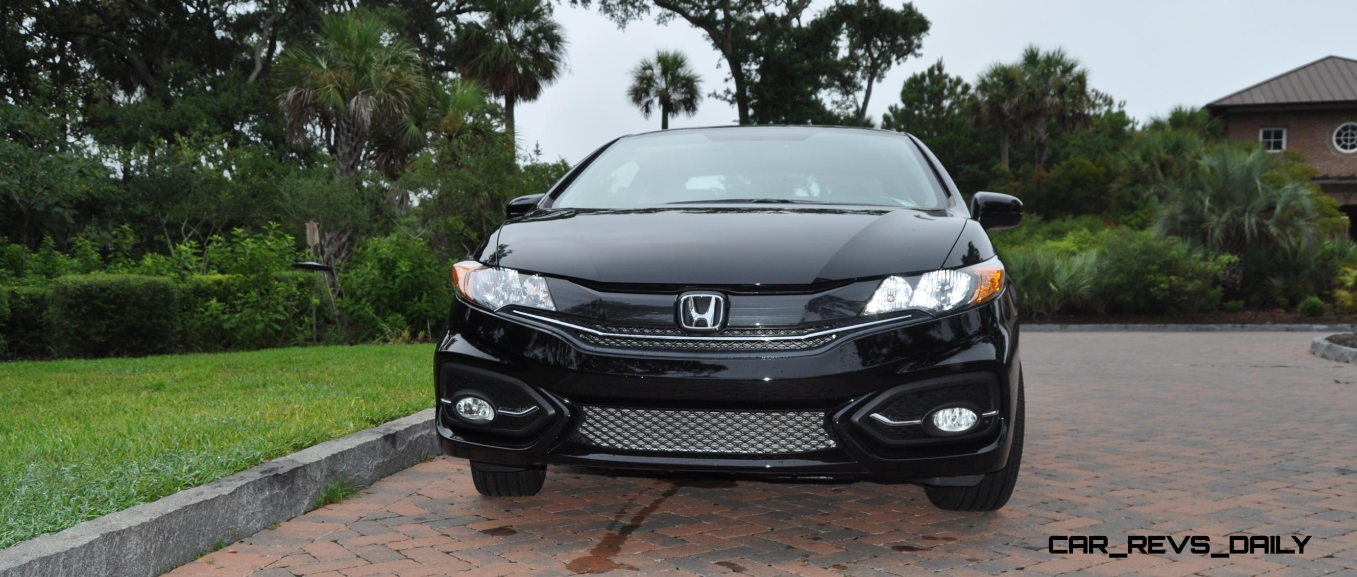 road test review 2014 honda civic ex l coupe 136. Black Bedroom Furniture Sets. Home Design Ideas