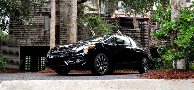 Road Test Review - 2014 Honda Civic EX-L Coupe 143