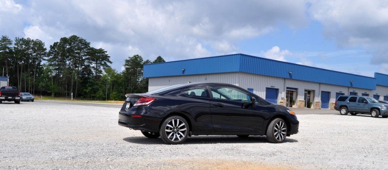 Road Test Review - 2014 Honda Civic EX-L Coupe 15