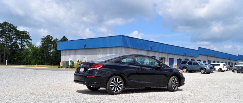 Road Test Review - 2014 Honda Civic EX-L Coupe 16