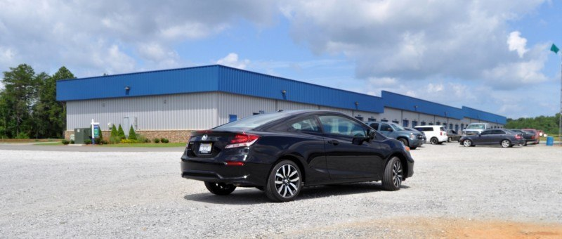 Road Test Review - 2014 Honda Civic EX-L Coupe 17