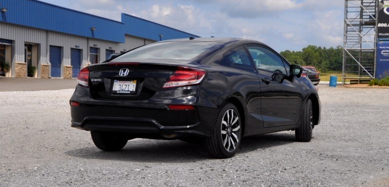 Road Test Review - 2014 Honda Civic EX-L Coupe 19