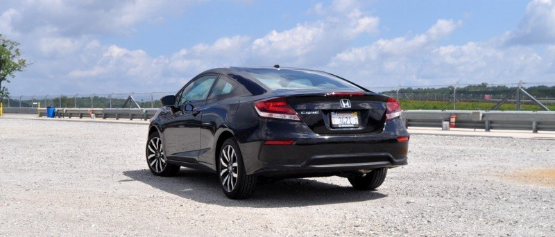Road Test Review - 2014 Honda Civic EX-L Coupe 23