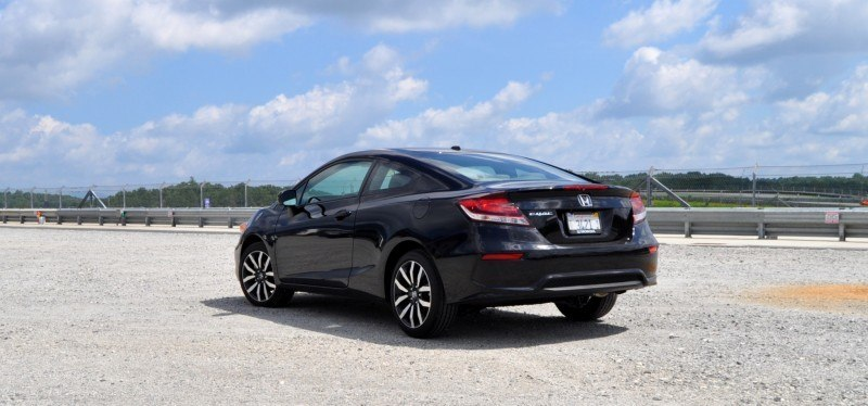 Road Test Review - 2014 Honda Civic EX-L Coupe 24