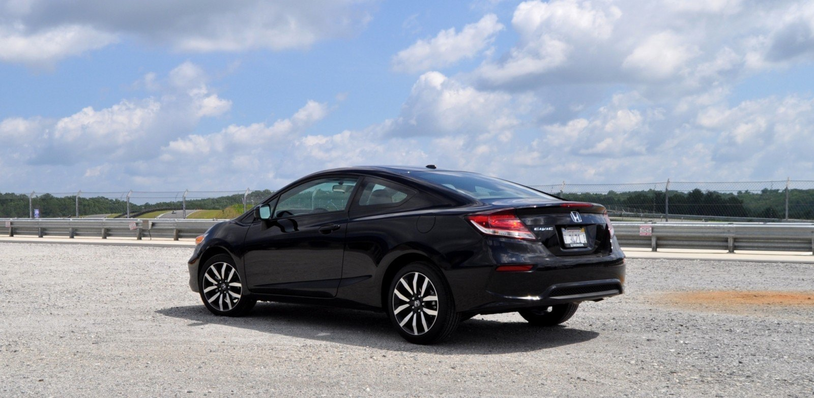 Road Test Review 2014 Honda Civic EX L Coupe 26