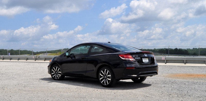 Road Test Review - 2014 Honda Civic EX-L Coupe 25