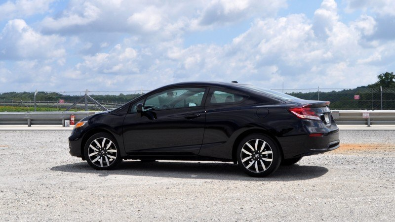 Road Test Review - 2014 Honda Civic EX-L Coupe 27