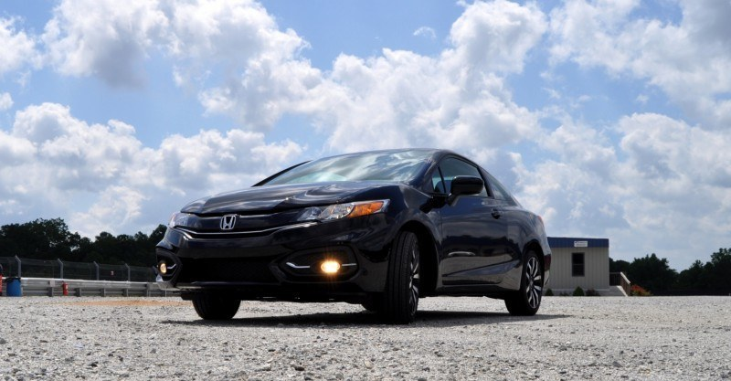 Road Test Review - 2014 Honda Civic EX-L Coupe 31
