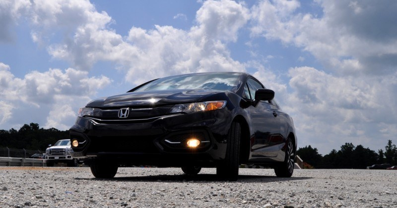 Road Test Review - 2014 Honda Civic EX-L Coupe 32